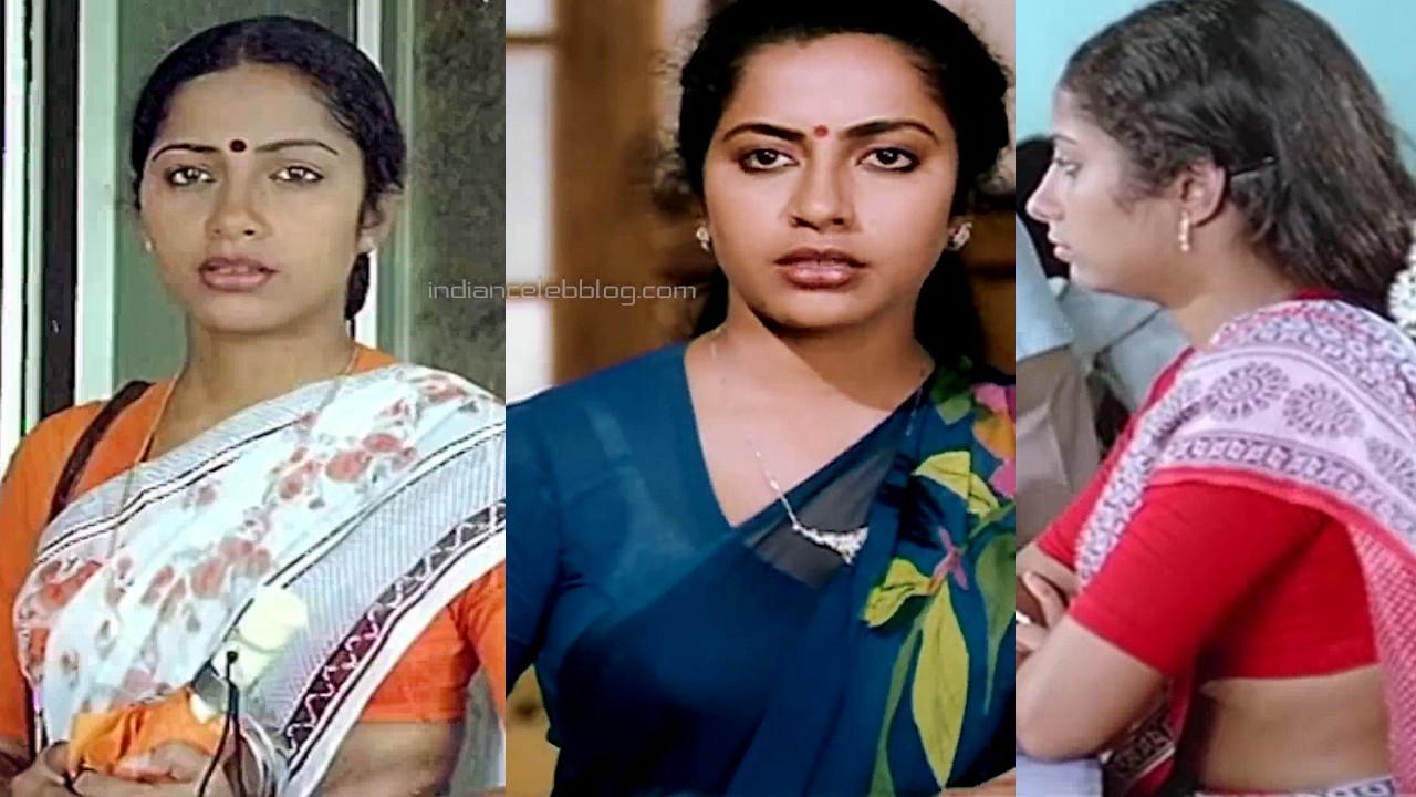 Suhasini maniratnam ramudu bheemudu telugu movie hot saree pics caps
