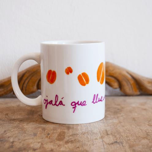 Ojalá que llueva café en mi taza