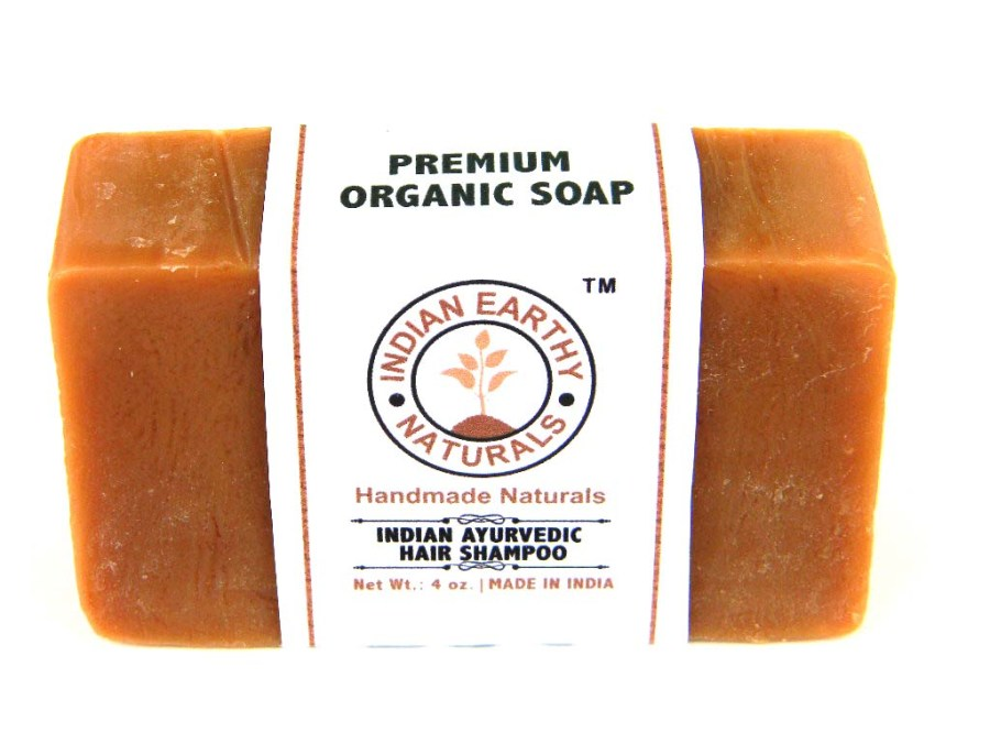 Indian Ayurvedic Hair Shampoo Bar