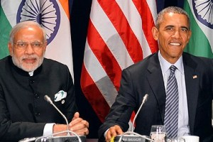 PM Modi Meets President Obama on the Sidelines of COP21 Summit