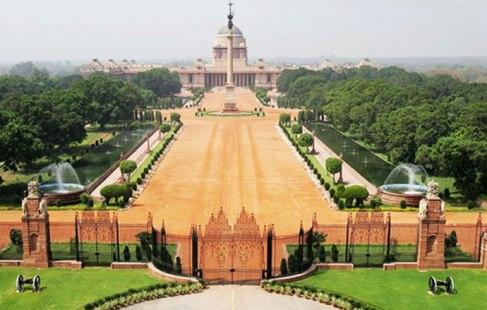 Rashtrapati Bhavan in New Delhi