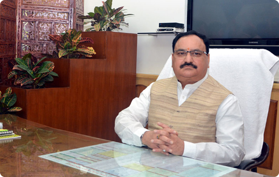 Union Health Minister J.P. Nadda