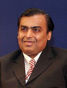 Mukesh Ambani (Photo: Wikipedia)
