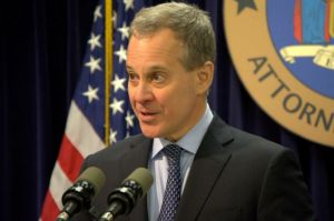 New York State Attorney General Eric Schneiderman announced on Thursday, March 24, 2016, a settlement with a state contractor that illegally outsourced confidential work to a Mumbai company.
