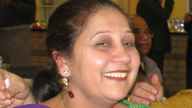 Jagtar Gill, 43, was found dead in her home on Jan. 29, 2014. (Courtesy of Gill's family and CBC News))