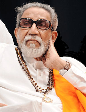 Shiv Sena founder Bal Thackeray