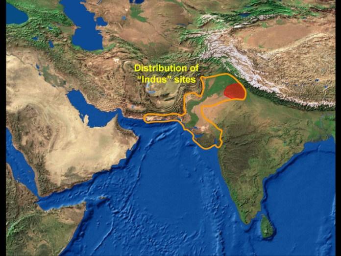 Indus Sites (Graphic courtesy: University of Cambridge.)