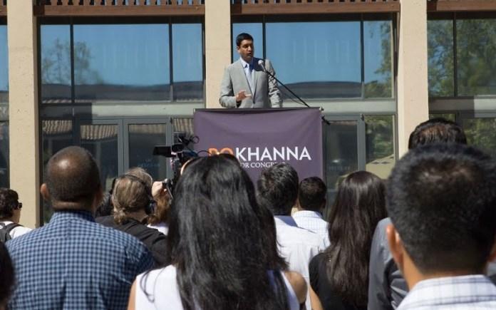 Ro Khanna (Photo courtesy: Khanna campaign website)