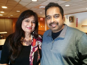 Shankar Mahadevan and Dr. Manju Sheth