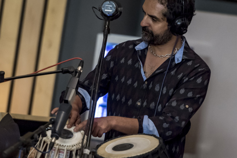 Indian-American Drummer and Tabla Player Karsh Kale to
