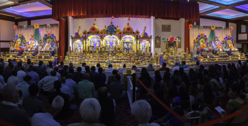 Baps boston celebrates diwali in style india new england for Annakut decoration ideas