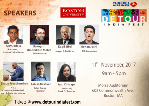 Boston University Detour India Fest @ Morse Auditorium