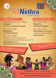 TriNethra - the third eye festival of dance @ Scottish Rite Museum