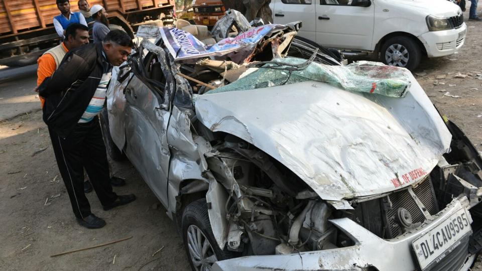 Four weight-lifters killed in accident near Delhi-Haryana border
