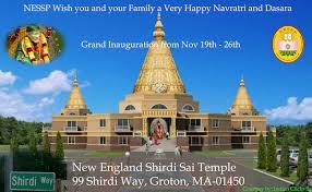 Pratista Sambandha Homam,Poornahuthi(NESSP) @ New England Shirdi Sai Temple