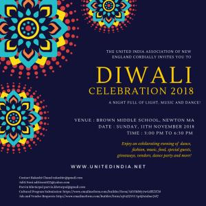 Diwali Celebration 2018 @ Brown Middle School  | Newton | Massachusetts | United States