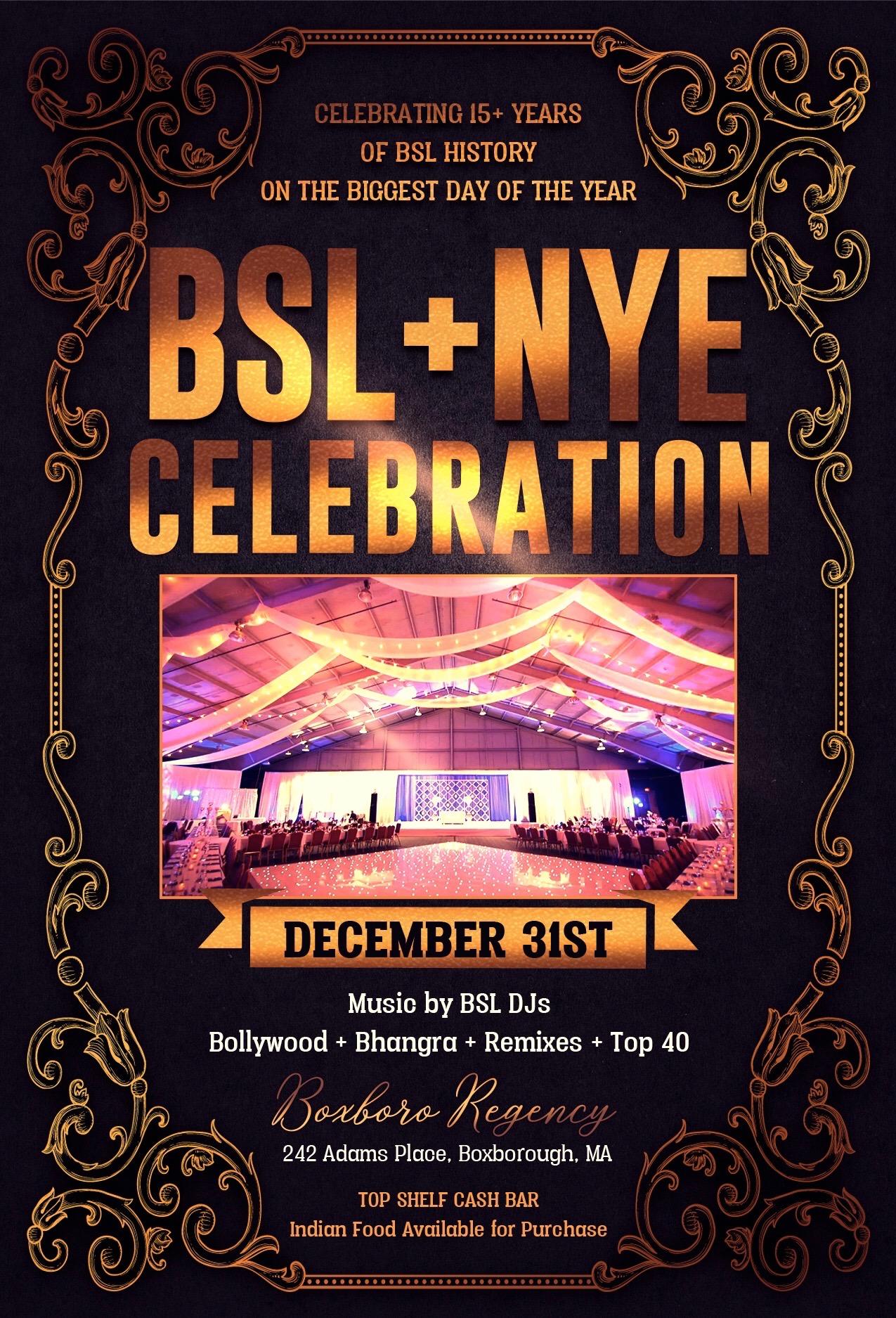 BSL + NYE 2019 | INDIA New England News