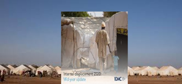 A record 55 million internally displaced