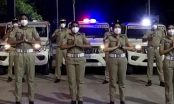 Cuckoo... cuckoo... Kerala Police Dance video a hit