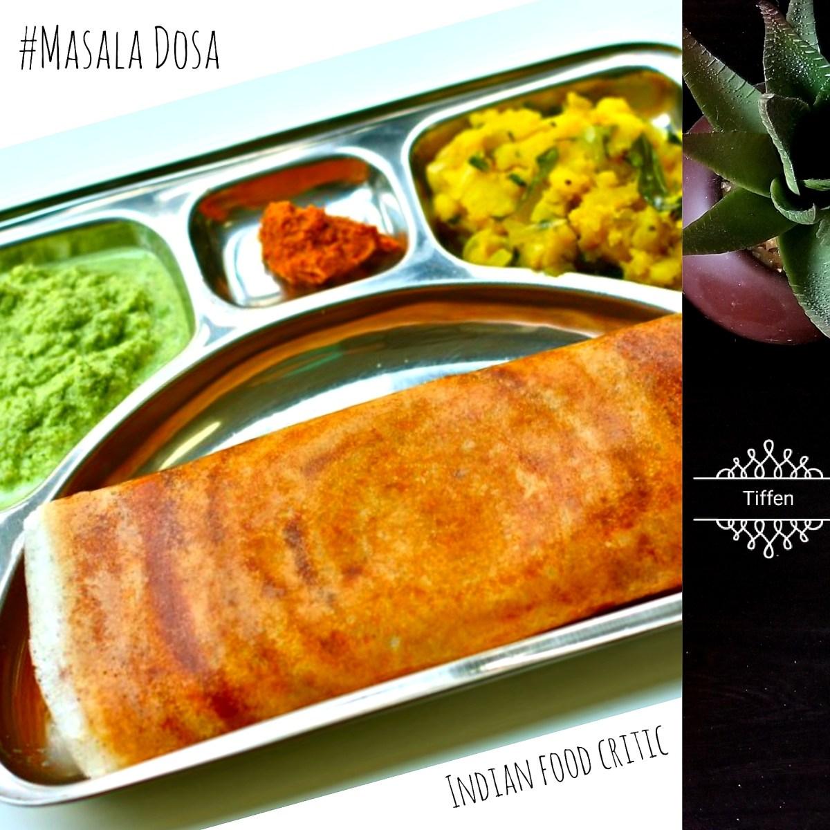 Masala Dosa | Mysore Masala Dosa Recipe | Mumbai Street Food Style Dosa | 4.75/5.0