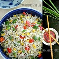 8 Indo Chinese Fried Rice Recipes | Veg Fried Rice | Indian Fried Rice Recipes| 4.7/5.0