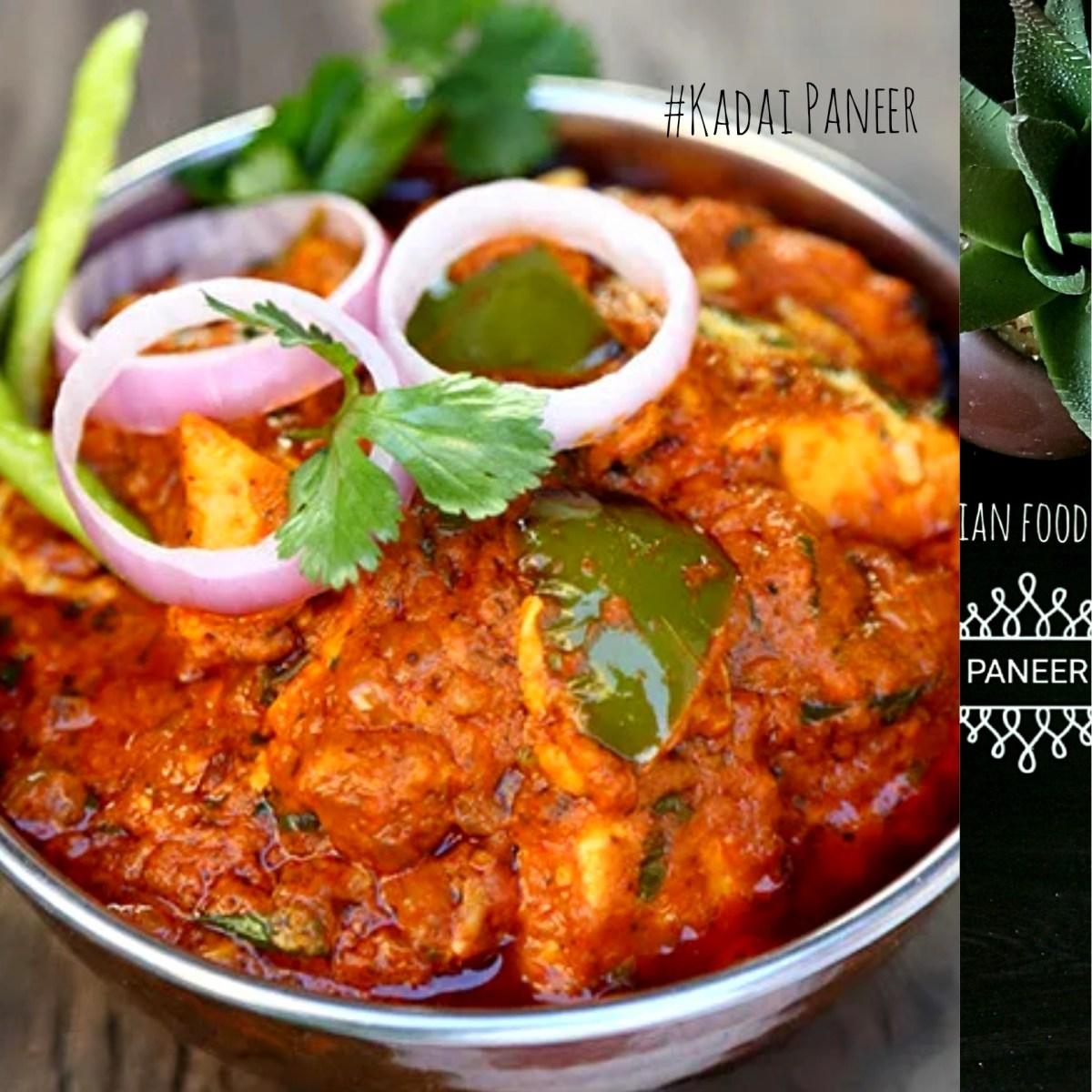 Kadai Paneer | Karahi Paneer | Kadai Paneer Gravy Restaurant Style | 4.60/5.0