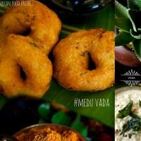 Medu Vada Recipe | Instant Medhu Vadai Recipe Suggestions | How to make Vadas Crispy and Round? | 4.50/5.0
