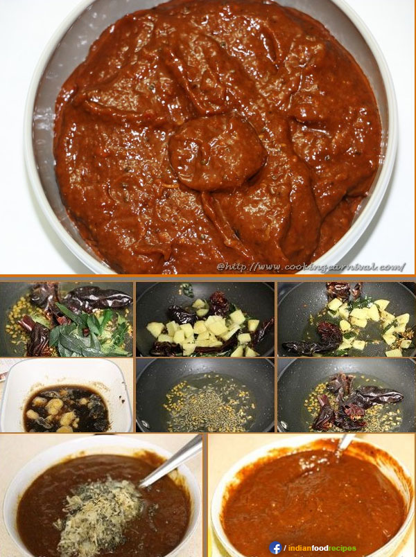 Allam Pachadi / Ginger chutney recipe step by step