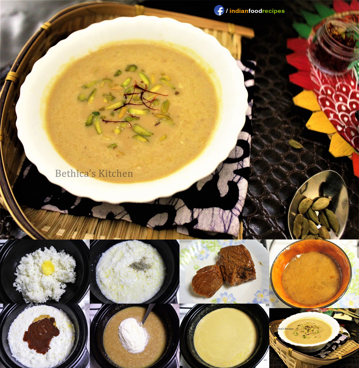Bengali Kheer / Nolen Gurer Payesh (Rice Pudding with Date Palm Jaggery – Bengali Style) recipe step by step