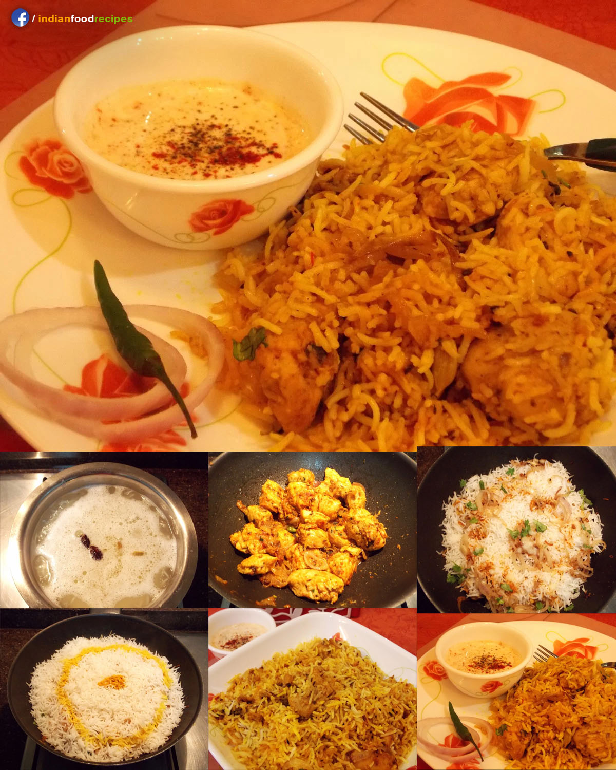 Delectable Chicken Dum Biryani recipe step by step