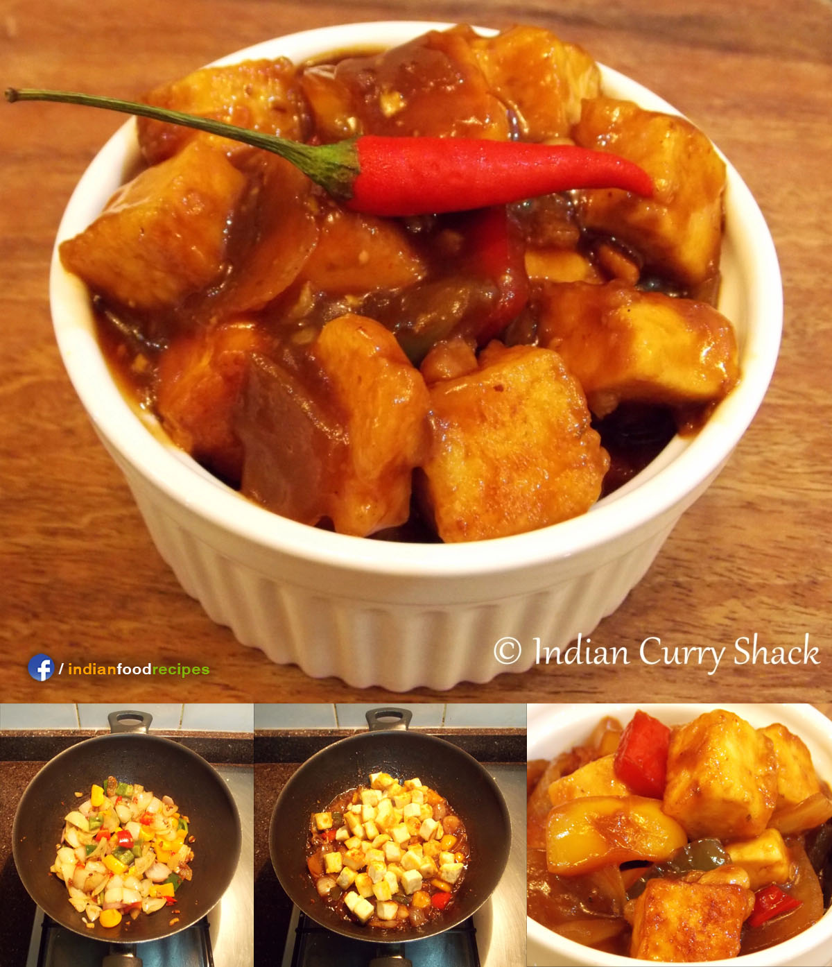 Chilli Paneer recipe step by step