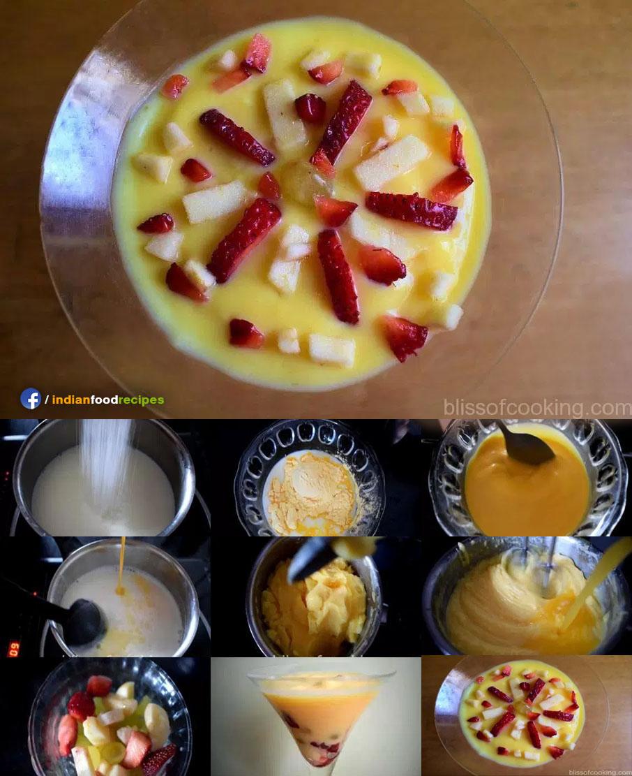 Creamy Smooth Custard recipe step by step