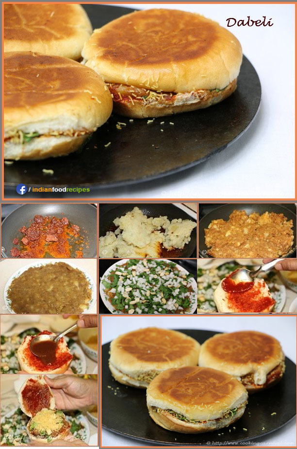 Dabeli recipe step by step