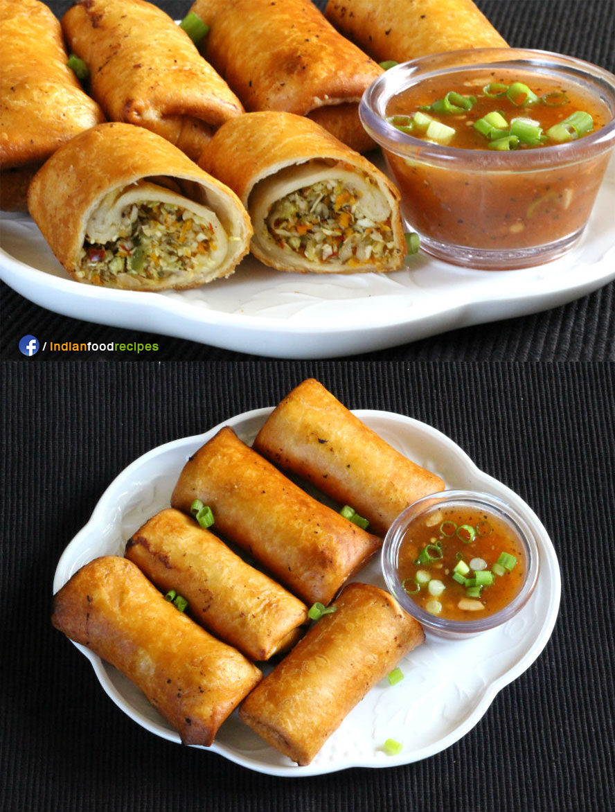 Deep Fried Spring Rolls recipe step by step