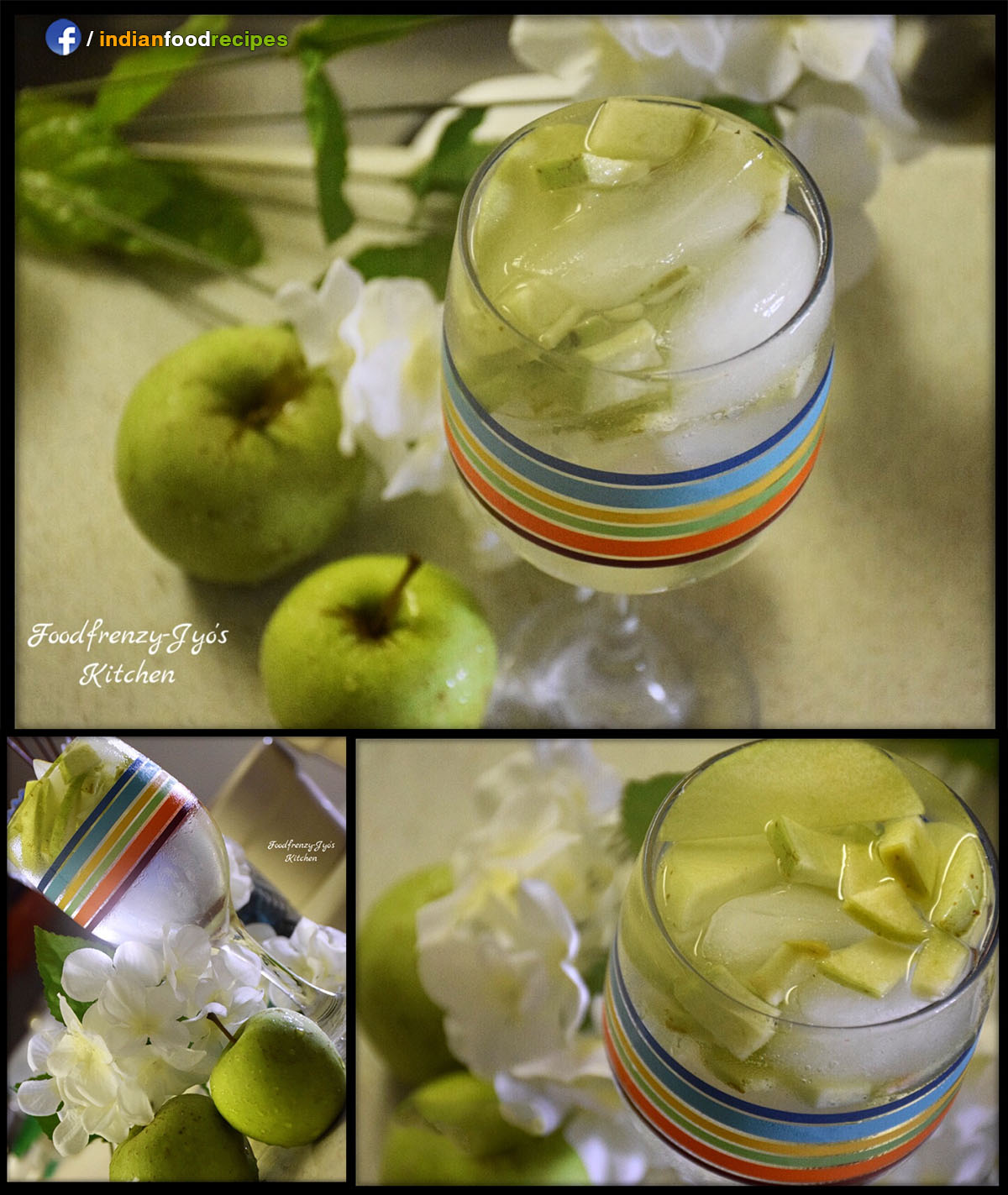 Green Apple Detox Drink recipe step by step