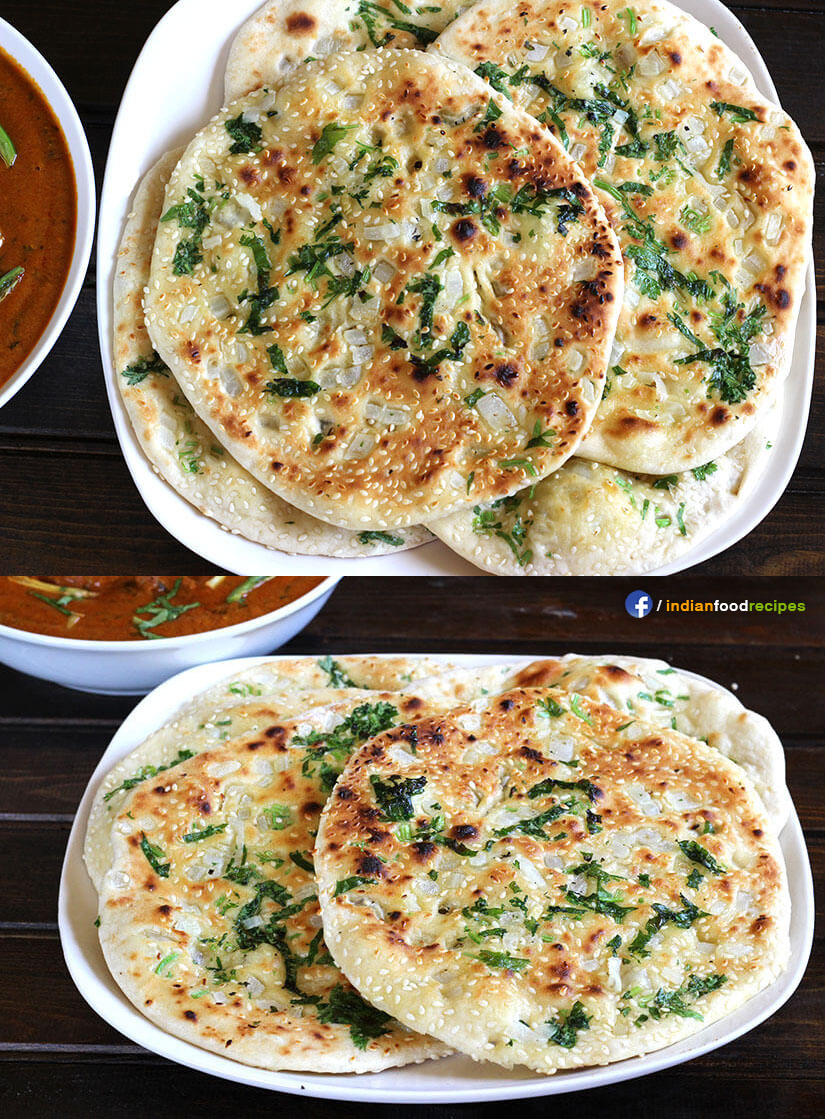 Kulcha recipe step by step indian food recipes kulcha recipe step by step forumfinder Choice Image