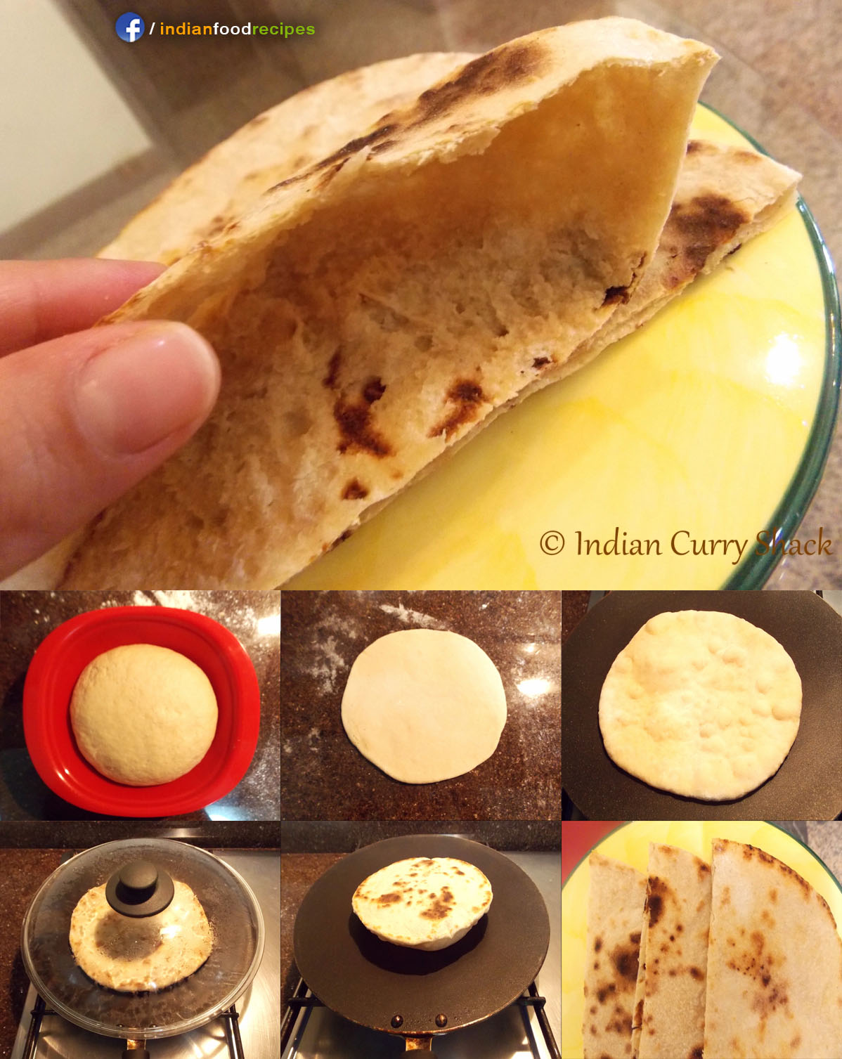 Pita Bread (Indo-Arabic) recipe step by step