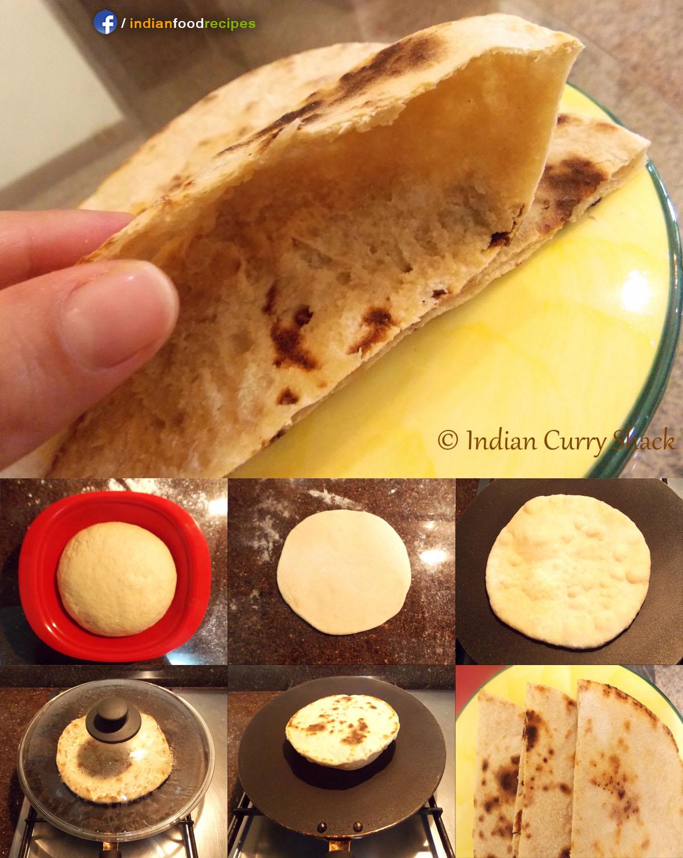 Pita Bread (Indo-Arabic) recipe step by step