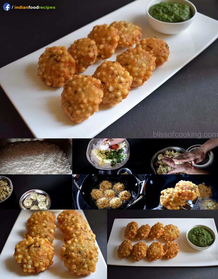 Sabudana Ke Vade (Sago Patties) recipe step by step