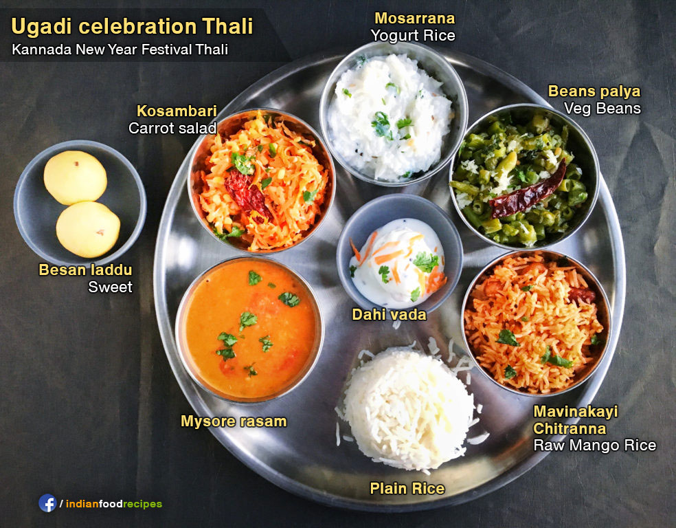 Traditional Karnataka Thali#12 recipe step by step