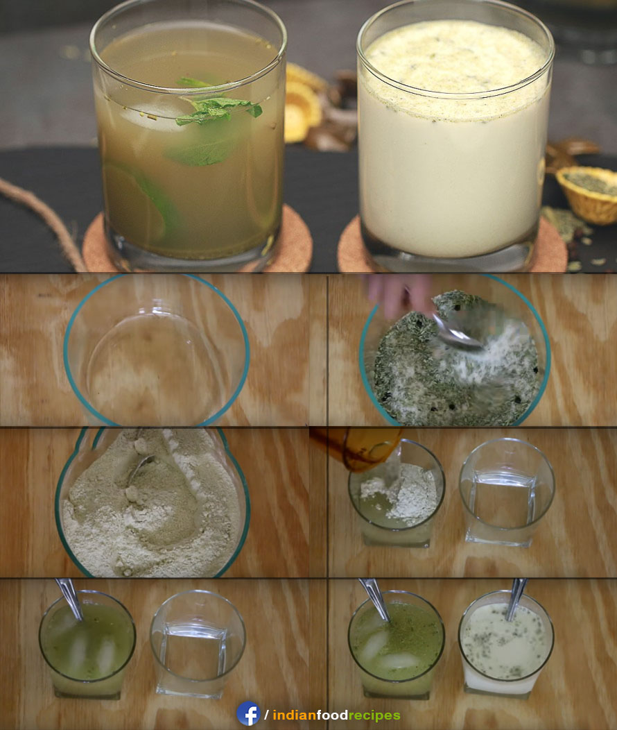 Variyali Sharbat / Saunf Drink recipe step by step