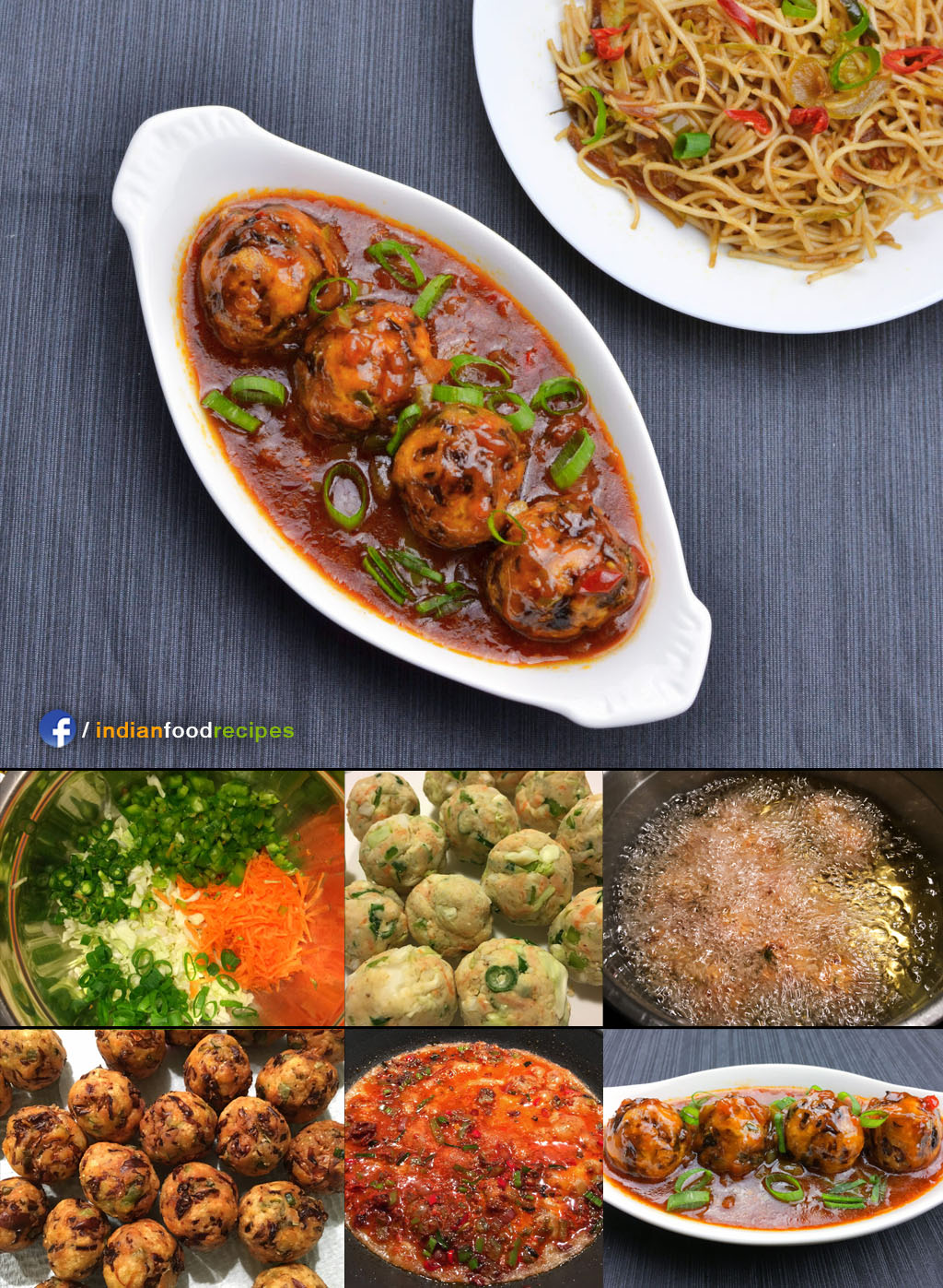 Veg Manchurian recipe step by step
