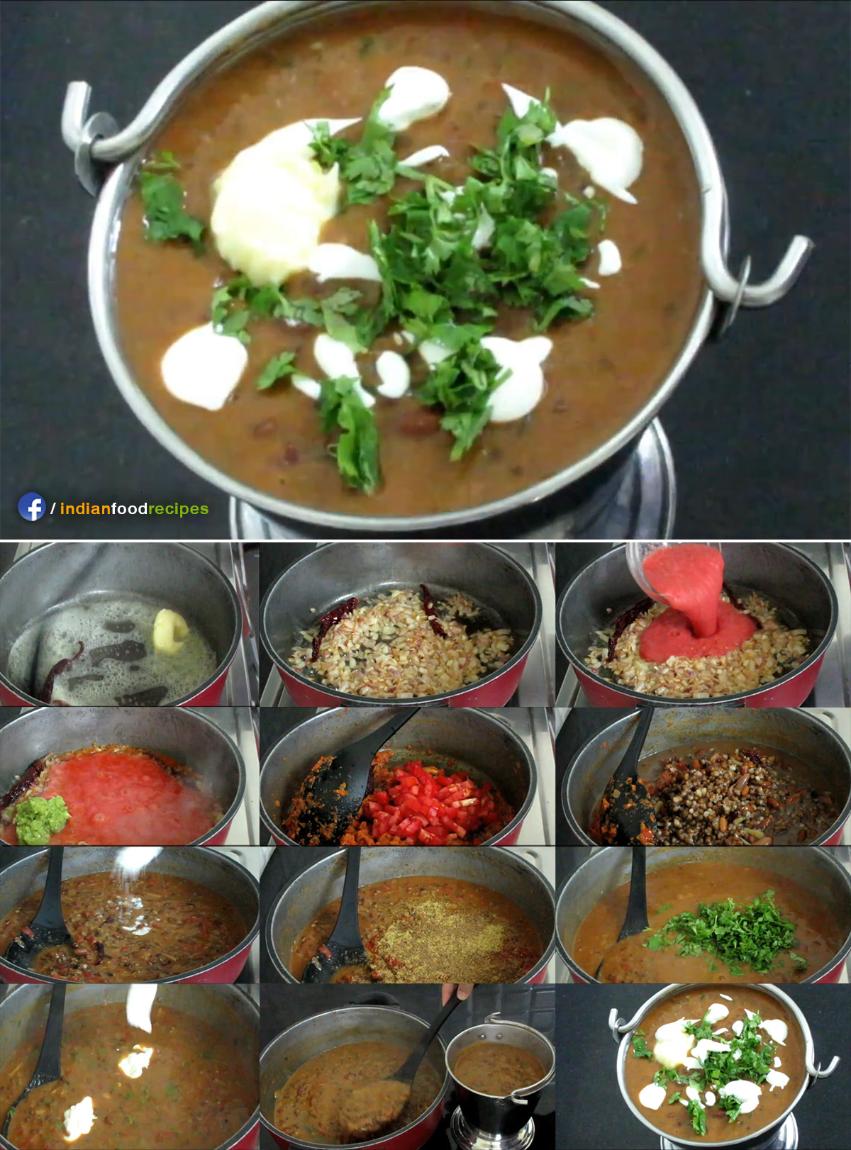 Authentic Pind Dal Makhani recipe step by step