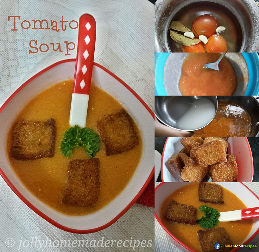 Creamy Tomato Soup recipe step by step