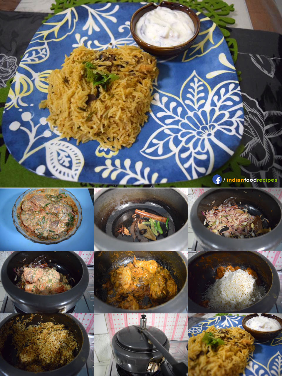 Easy Chicken Pulav recipe step by step