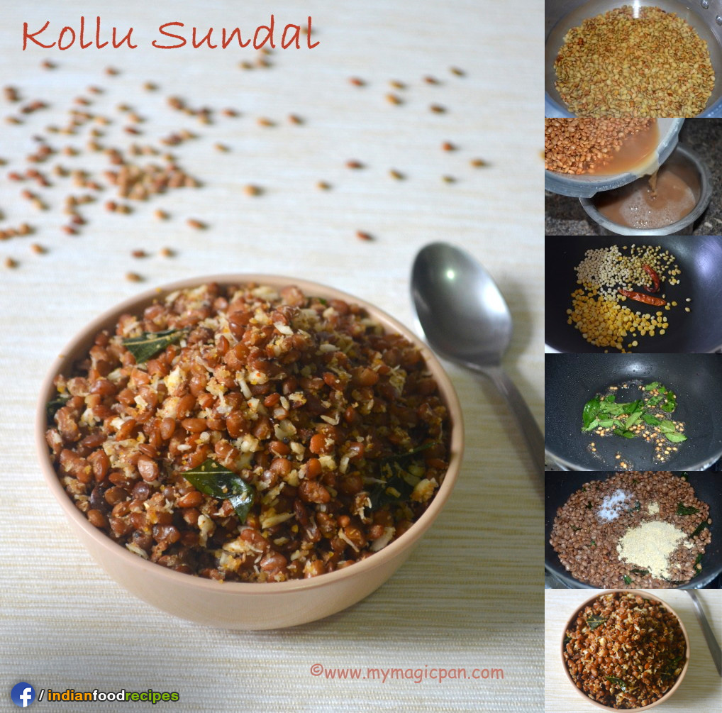 Easy Kollu Sundal – Horse Gram Sundal recipe step by step