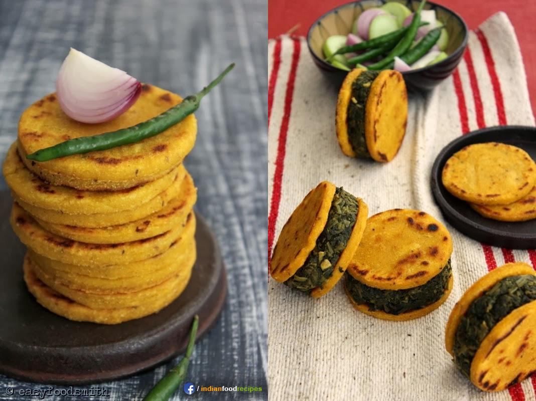 Makki Ki Roti aur Sarson Ka Saag recipe step by step