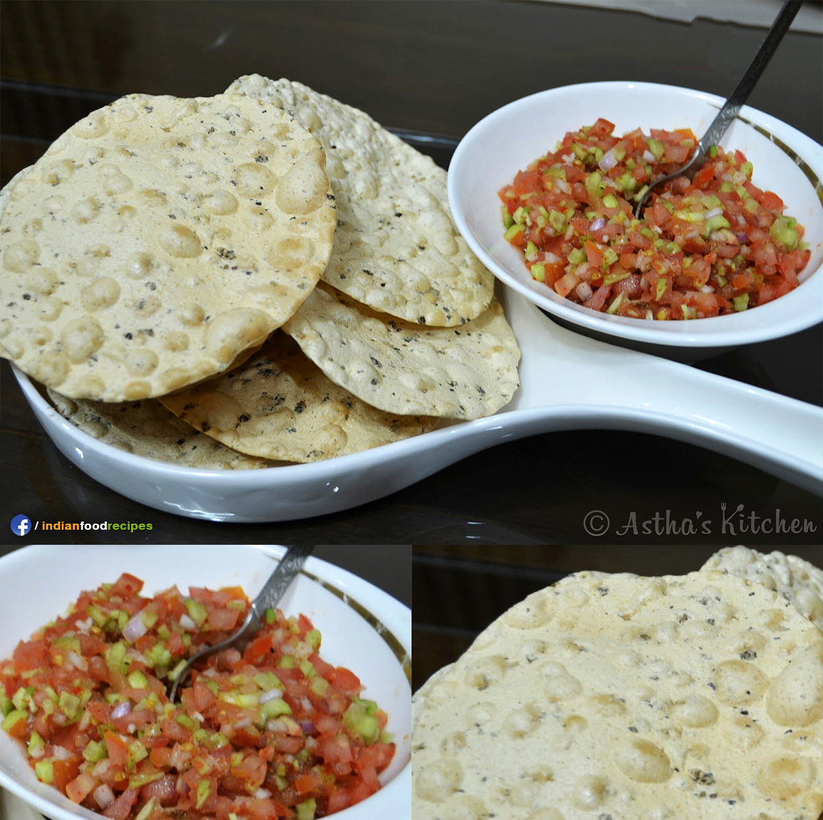 Masala Papad recipe step by step