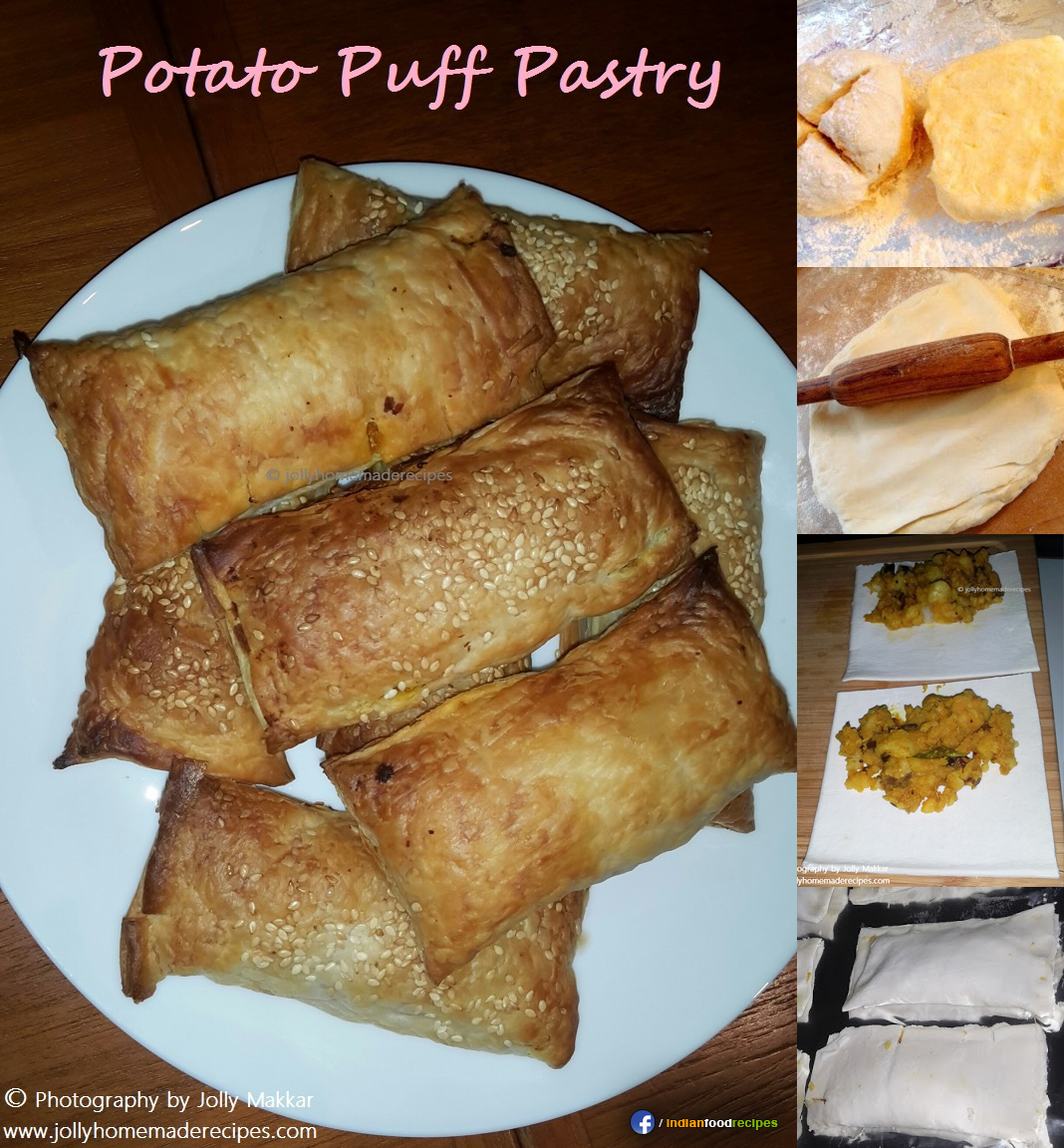 Potato Puff Pastry – Aloo Patties – Aloo Puff recipe step by step