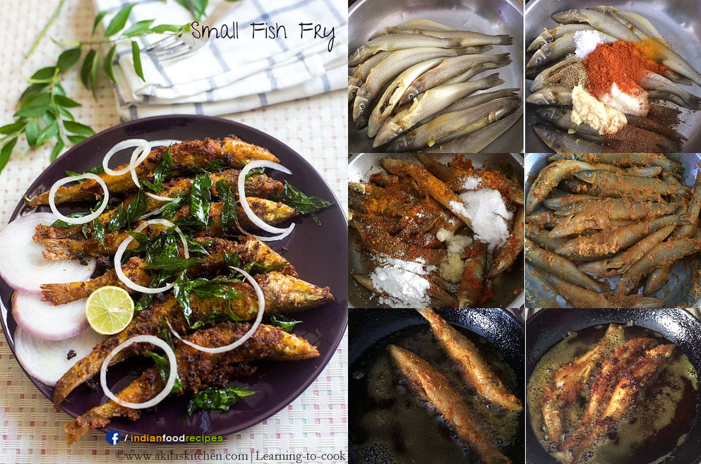 Small Fish Fry recipe step by step